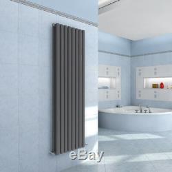 Vertical Designer Radiator Oval Column Tall Upright Central Heating Radiators UK
