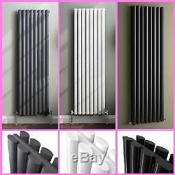 Vertical Designer Radiator Oval Column Upright Panel Central Heating Radiators