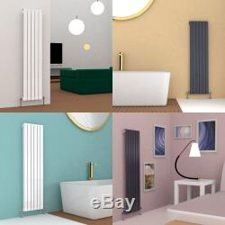 Vertical Designer Radiator Tall Upright Central Heating Oval Column Rads UK New
