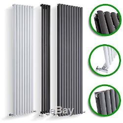 Vertical Designer Radiator Tall Upright Oval Column Panel Rad Central Heating UK