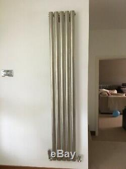 Vertical Designer Radiator Tall Upright Oval Column Panel Rad Central Heating UK