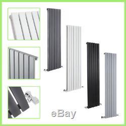 Vertical Designer Radiators Flat Panel Columns Tall Upright Central Heating