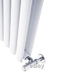 Vertical Designer Radiators Oval Column Double Single Central Heating 1.6M 1.8M