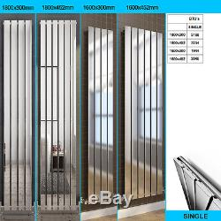 Vertical Flat Column Radiators Double or Single Central Heating Designer Rads UK