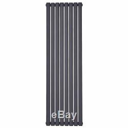 Vertical Flat Panel Designer Column Radiator Single Central Heating New