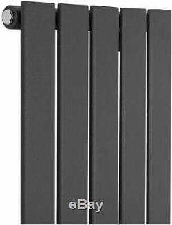 Vertical Flat Panel Radiator White Anthracite Designer Tall Central Heating Rads