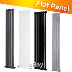 Vertical Flat Panel Tall Upright Column Designer Radiator Central Heating Single