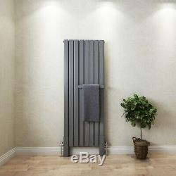 Vertical Horizontal Designer Radiator Oval Column Panel Rad Central Heating UK