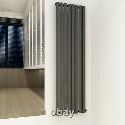 Vertical Horizontal Designer Radiator Oval Column Tall Upright Heating Rads UK