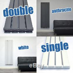 Vertical Radiators Modern Designer Tall Central Heating Heated Towel Rails Rads