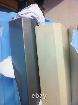 Vertical designer mirror radiator Black 400/1800/82 3500 Btu