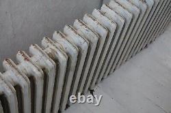 Very long Cast Iron radiator 33 column x 4 row