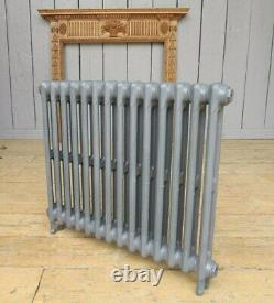 Victorian 2 Column Cast Iron Radiator 14 Sections Long Next Day Delivery