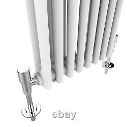 White Traditional Radiator Cast Iron Style Rads Horizontal / Vertical 2 3 Column
