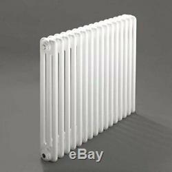Windsor 3 Column Horizontal Central Heating Radiator 500mm x 394mm 8 Section