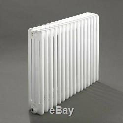 Windsor 4 Column Horizontal Central Heating Radiator 500mm x 578mm 12 Section
